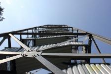 Feuerwachturm Farnberg - Stahlkonstruktion