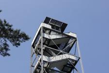 Feuerwachturm Farnberg - Ausguck